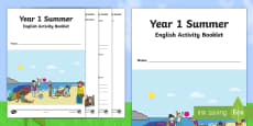 * NEW * Year 1 Summer English Activity Booklet
