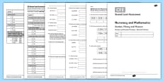 Second Level Assessment Numeracy and Mathematics Number Money and Measure Decimal Fractions