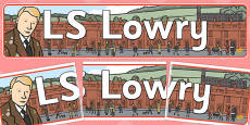 LS Lowry Display Banner
