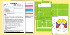 Rugby Bee-Bot Activity EYFS Adult Input Plan and Resource Pack