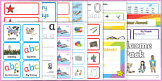 KS1 Classroom Set Up Pack for NQTs
