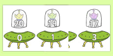 Number Bonds to 20 (Aliens and Spaceships)