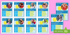 * NEW * Roland Garros Top Card Game French