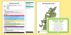 EYFS Thread a Beanstalk Finger Gym Plan and Resource Pack