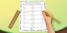 Visual Perception Connect the Dots Activity Sheet