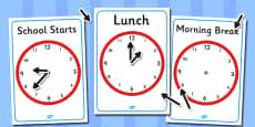 Split Pin Display Clocks