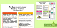 The Supermarket Aistear Planning Overview