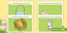 * NEW * Conta da 1 a 5 di Pasqua Tappetino Plastilina