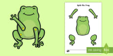 * NEW * Split Pin Frog Activity
