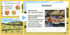 Harvest Festivals Around the World EYFS PowerPoint