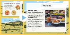 Harvest Festivals Around the World EYFS PowerPoint