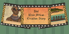 Kingdom of Benin: Bini Creation Story PowerPoint