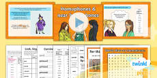 PlanIt Y5 Term 1A W5: Homophones and Near Homophones Spelling Pack