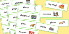 Two Syllable PL Sound Word Cards