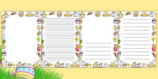 Easter Page Borders