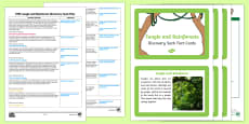EYFS Jungle and Rainforest Discovery Sack Plan and Resource Pack