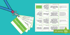 Lanyard Sized Year Five Multiplication and Division Objectives Cards