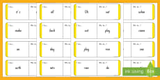 Sight Words - Yellow Loop Cards