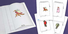 Character Description Interactive Writing Template to Support Teaching on Fantastic Mr Fox