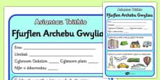 Travel Agents Booking Form Welsh Translation