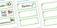 Rowan Tree Themed Editable Additional Resource Labels