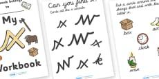 My Workbook x Lowercase Cursive