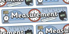 Measurement Display Banner