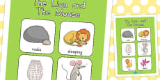 Australia - The Lion and the Mouse Vocabulary Poster