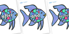 Connectives on Rainbow Fish to Support Teaching on The Rainbow Fish