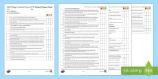 AQA Trilogy Unit 4.2 Organisation Student Progress Sheet