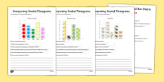 Interpreting Pictograms Activity Sheet Pack