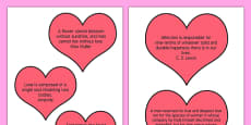 Adult Education Valentine's Day Quotes