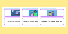 Phase 3 Sentence and Pictures Matching Activity