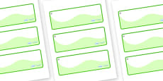 Hazel Tree Themed Editable Drawer-Peg-Name Labels (Colourful)