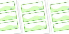 Hazel Tree Themed Editable Drawer-Peg-Name Labels (Colourful)