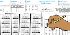 Year 5 Spring Term Spelling Lists and Resources Pack