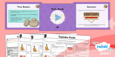 PlanIt - RE Year 4 - Buddhism Lesson 5: Holy Book Lesson Pack