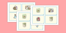 Beatrix Potter - The Tale of Tom Kitten Story Sequencing Cards