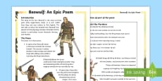 UKS2 Beowulf Differentiated Fact File