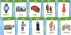 Active Literacy Phonics Programme Stage 3 Flashcards