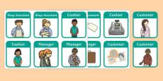 Clothes Shop Role Play Badges