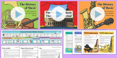 * NEW * The History of Music Resource Pack