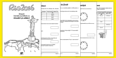 Year 2 Rio Olympics Addition and Subtraction Activity Booklet Romanian