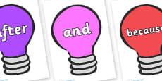 Connectives on Lightbulbs (Multicolour)