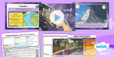 PlanIt - RE Year 6 - Creation Stories Lesson 1: Judaism and Christianity Lesson Pack
