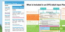 * NEW * EYFS Elmer Bumper Planning Pack Overview