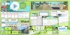 PlanIt - Geography Year 6 - The Amazing Americas Unit Pack