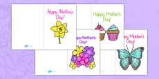 Mother's Day Card Templates