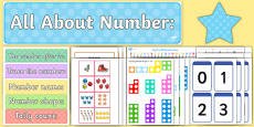 All About Numbers Display Pack