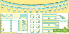 Naming Ceremony Decorations Pack
